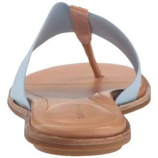 97b55ee482173 Taryn Rose Women s Lydia Metallic Nappa Flat Sandal. Quick View