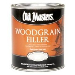 Old Masters 50004 Woodgrain Filler, Quart