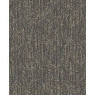 Graham and Brown 101439 56 Square Foot - Devore Charcoal and Champagne - Non-Pasted Vinyl Wallpaper