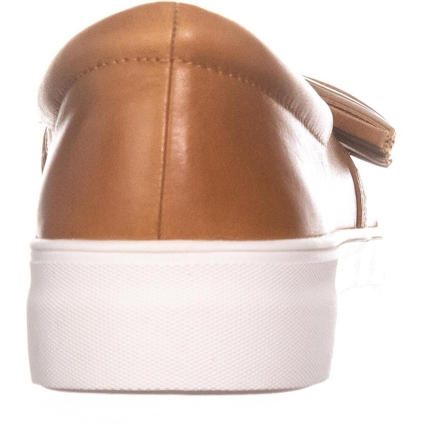 Vince Camuto Women/'s Kayleena Fashion Sneaker Equestrian Brown 7.5 M US