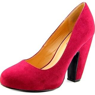 Me Too Lesha Round Toe Synthetic Heels