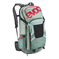 EVOC FR Trail Team Protector Hydration Backpack - 20L, M/L - light petrol/olive