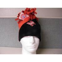 - Nebraska Cornhuskers Adult One Size Fleece Beanie Hat
