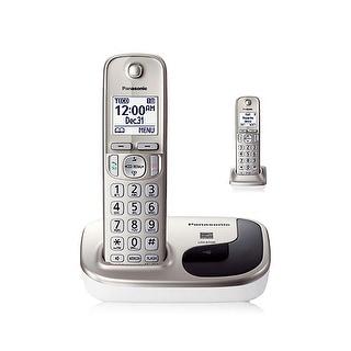 Panasonic KX-TGD212N 2 Handset Expandable Cordless Phone DECT 6.0 New
