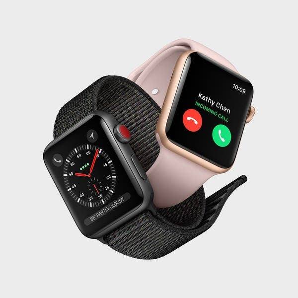 Nuez humor corrupción  Apple Watch Nike+ Series 3 38mm Smartwatch (GPS Only, Silver Aluminum Case,  Pure Platinum/Black Nike Sport Band Band) - Overstock - 22750084