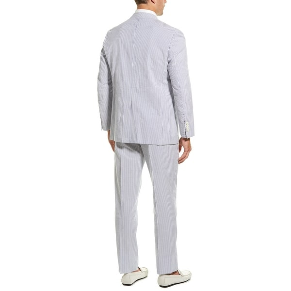 Shop Brooks Brothers Seersucker Suit On Sale Overstock 29457463