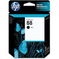 HP 88 Black Original Ink Cartridge (C9385AN) (Single Pack)