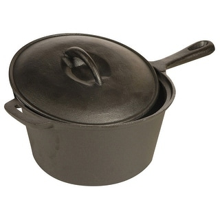 World Famous Cast Iron Saucepan
