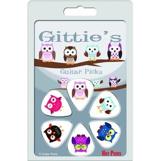 Gitties Picks Owl Clamshell