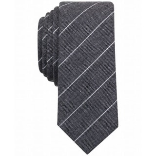 Penguin NEW Black White Men's One Size Stripe Johnnie Neat Neck Tie|https://ak1.ostkcdn.com/images/products/is/images/direct/580d55f68ddd632c2f210afcb46890f4dfd39421/Penguin-NEW-Black-White-Men%27s-One-Size-Stripe-Johnnie-Neat-Neck-Tie.jpg?impolicy=medium
