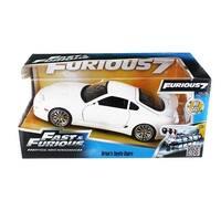 Fast & Furious 1:24 Diecast Vehicle: White Toyota Supra - Multi