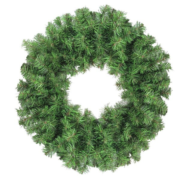 "16"" Colorado Spruce 2-Tone Artificial Christmas Wreath - Unlit - green"