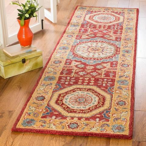 Safavieh Handmade Antiquity Delilah Traditional Oriental Wool Rug