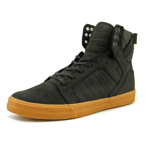 Supra Skytop Men Black-Gum Skateboarding Shoes