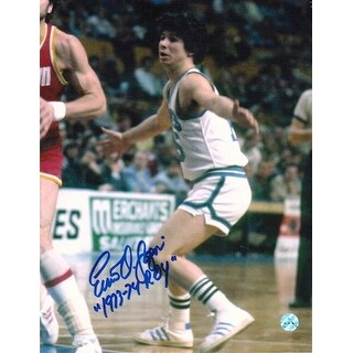 """Autographed Ernie DiGregorio Buffalo Braves 8x10 Photo Inscribed """"1973-74 ROY"""""""