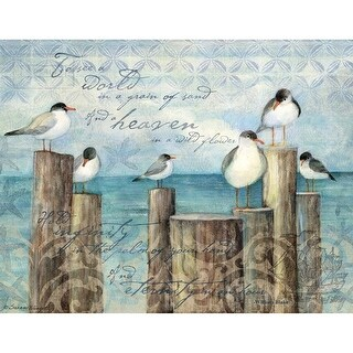 Coastal Breeze 4 In X 5.25 In Boxed Note Cards, Journals and Housewares by Lang