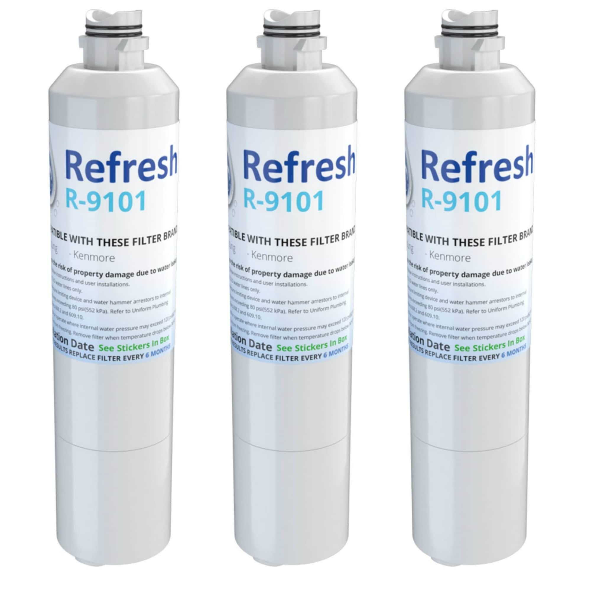 AquaFresh Replacement Water Filter for Samsung RF23J9011SR//AA Refrigerators 3Pk