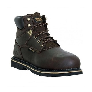McRae Industrial Work Boots Mens Lacer Composite Toe MET Brown MR86734