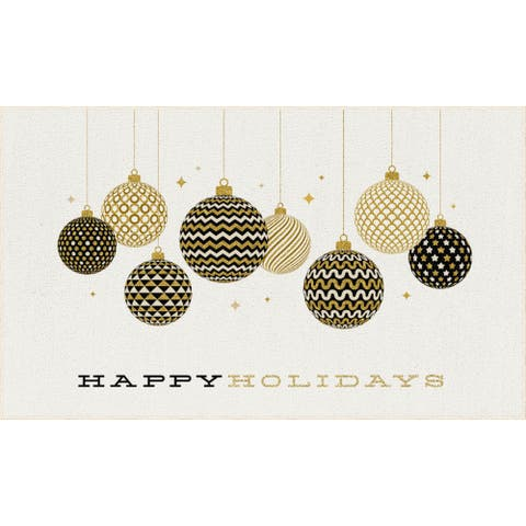 Mohawk Prismatic Holiday Ornaments Area Rug