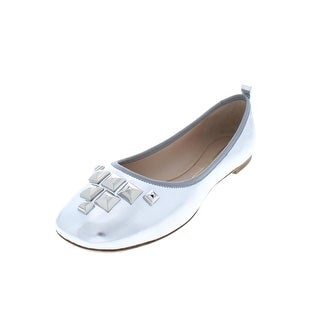 Marc Jacobs Womens Cleo Ballet Flats Studded Leather