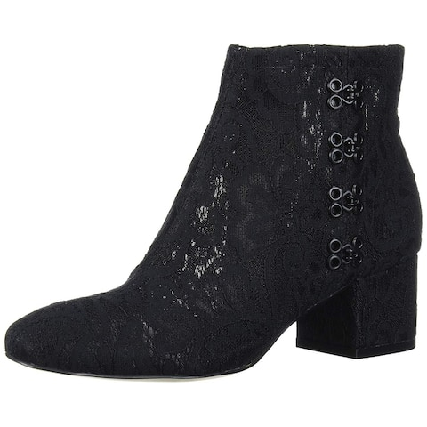 Katy Perry Women's The Glyn-mesh Lace Ankle Boot
