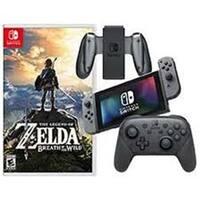 Nintendo CTLSWIBUN3 Switch Video Game System Bundle