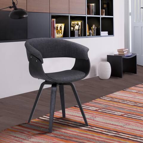 Carson Carrington Vamdrup Modern Dining Chair In Charcoal