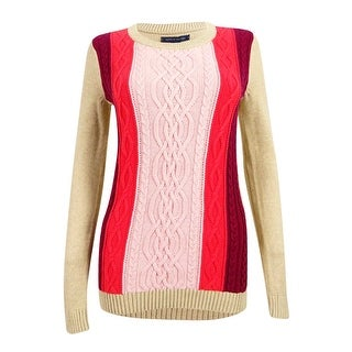 Tommy Hilfiger Women's Lucy Cable-Knit Sweater - Multi