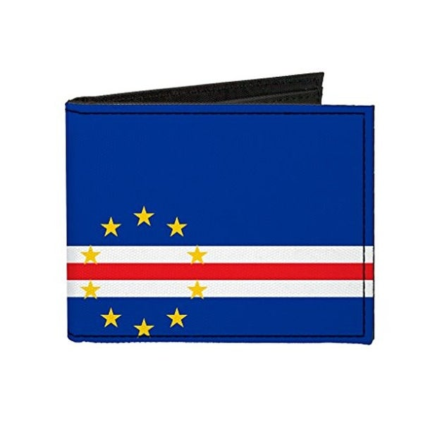 Buckle-Down Canvas Bi-fold Wallet - Cabo Verde Flag Accessory
