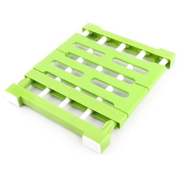 Shop Home Plastic Retractable Nail-free Sundries Storage Partition ...