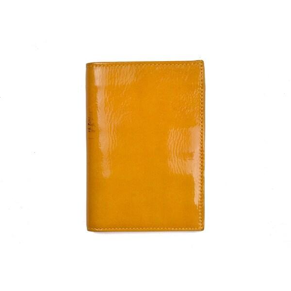 66925a4c471 Roberto Cavalli Orange Patent Leather Credit Card Holder~RTL 650 - One Size