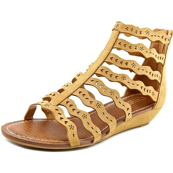 Carlos by Carlos Santana Kitt Women Open Toe Canvas Gladiator Sandal