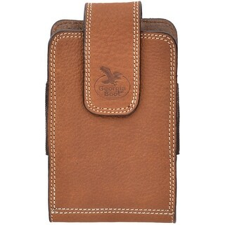 Georgia Cell Phone Case Leather Smartphone Swivel Light Brown