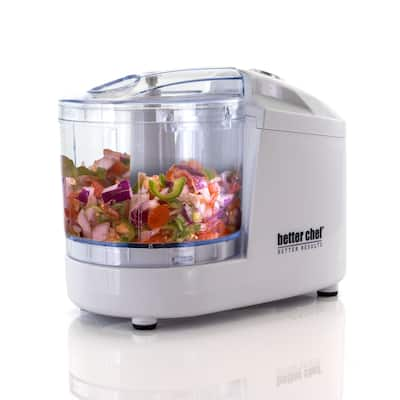 Better Chef 12 Ounce Compact Chopper in White