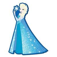 """Disney's Frozen Soft Touch PVC Magnet: """"Elsa"""" - Multi"""