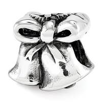 Sterling Silver Reflections Christmas Bells Bead (4mm Diameter Hole)