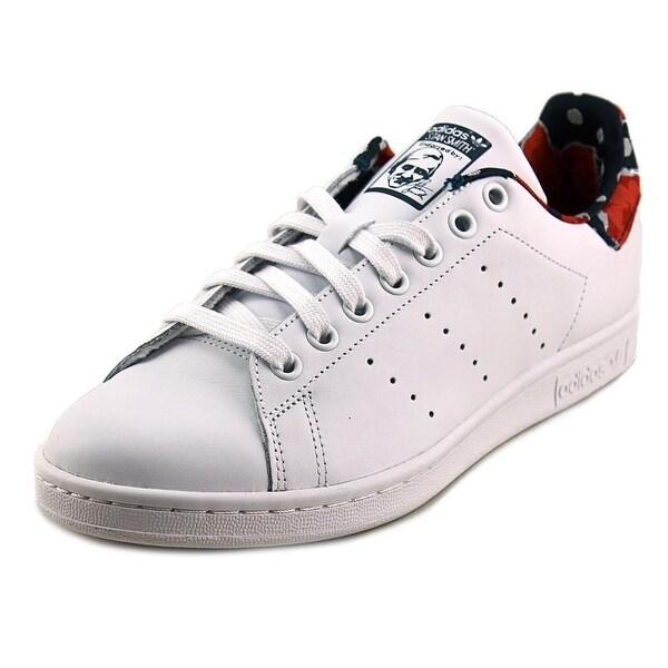 Adidas Stan Smith Women Round Toe Leather White Sneakers