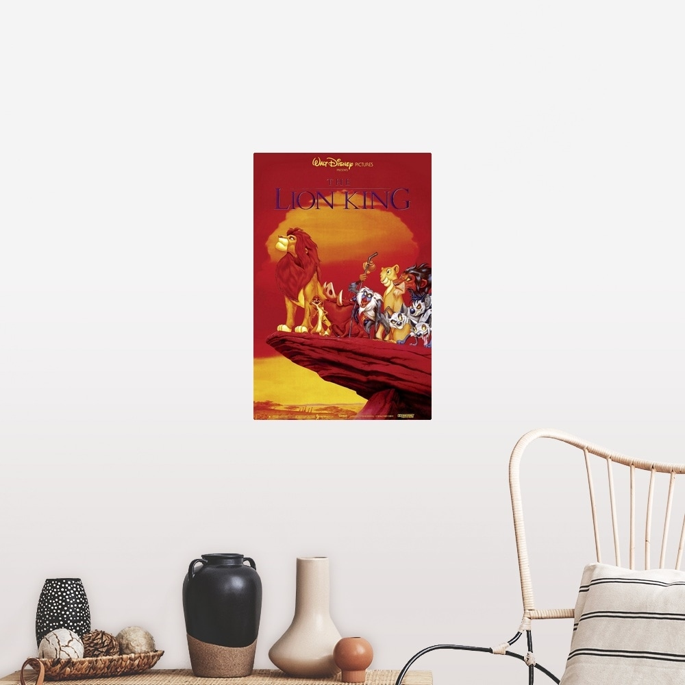 Shop The Lion King 1994 Poster Print Overstock 24135147