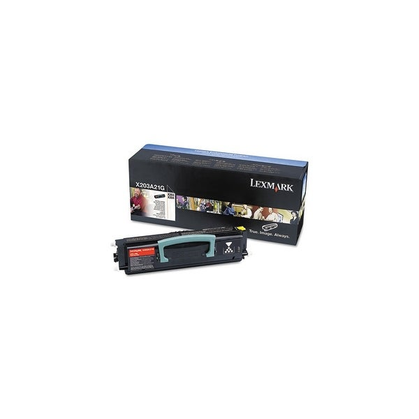 Lexmark Toner Cartridge - Black X203A21G Toner Cartridge