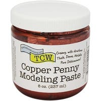 Crafter's Workshop Modeling Paste 8Oz-Copper Penny