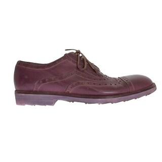 Dolce & Gabbana Dolce & Gabbana Pink Leather Formal Shoes