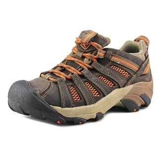 Keen Voyageur Round Toe Leather Hiking Shoe