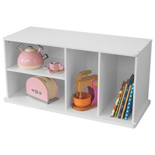 KidKraft: Storage Unit with Shelves - White