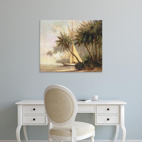 Easy Art Prints Malarz's 'Leaving Out' Premium Canvas Art