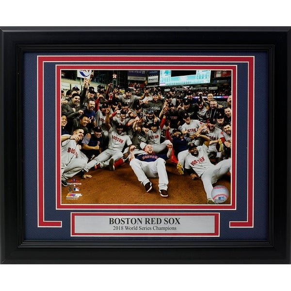 Shop Boston Red Sox Framed 2018 World Series Champions Team Group 8x10  Photo - Free Shipping Today - - 25861559 a0dc43e598b
