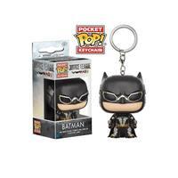 Funko POP Keychain - DC Justice League - Batman Tactical - Multi