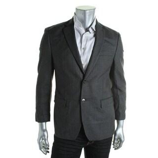 Calvin Klein Mens Sportcoat Silk Slim Fit - 38r