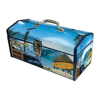 Sainty 24-027 Art Deco Break Time Tool Box, 16""