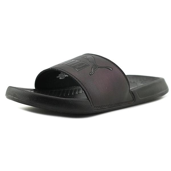 Puma Popcat Swan Women Open Toe Synthetic Black Slides Sandal