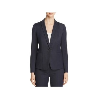 Elie Tahari Womens Tova One-Button Blazer Pattern Long Sleeve (2 options available)